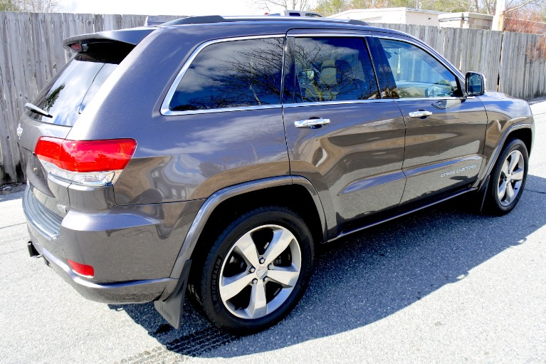 Used 2014 Jeep Grand Cherokee Overland 4WD Used 2014 Jeep Grand Cherokee Overland 4WD for sale  at Metro West Motorcars LLC in Shrewsbury MA 5
