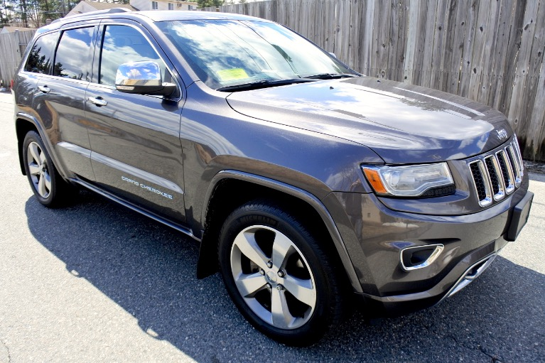 Used 2014 Jeep Grand Cherokee Overland 4WD Used 2014 Jeep Grand Cherokee Overland 4WD for sale  at Metro West Motorcars LLC in Shrewsbury MA 7