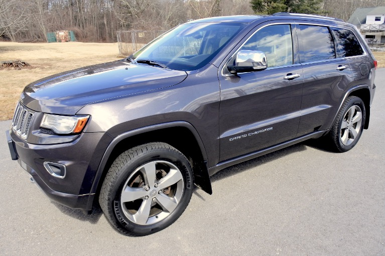 Used 2014 Jeep Grand Cherokee Overland 4WD Used 2014 Jeep Grand Cherokee Overland 4WD for sale  at Metro West Motorcars LLC in Shrewsbury MA 1