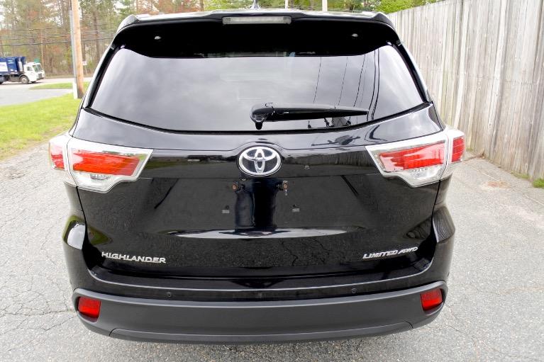 Used 2015 Toyota Highlander Limited AWD Used 2015 Toyota Highlander Limited AWD for sale  at Metro West Motorcars LLC in Shrewsbury MA 4