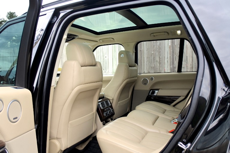 Used 2016 Land Rover Range Rover Supercharged Used 2016 Land Rover Range Rover Supercharged for sale  at Metro West Motorcars LLC in Shrewsbury MA 15