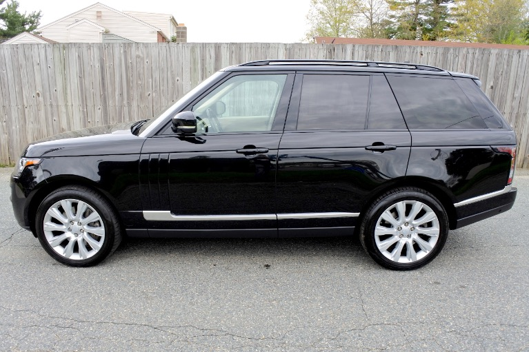 Used 2016 Land Rover Range Rover Supercharged Used 2016 Land Rover Range Rover Supercharged for sale  at Metro West Motorcars LLC in Shrewsbury MA 2