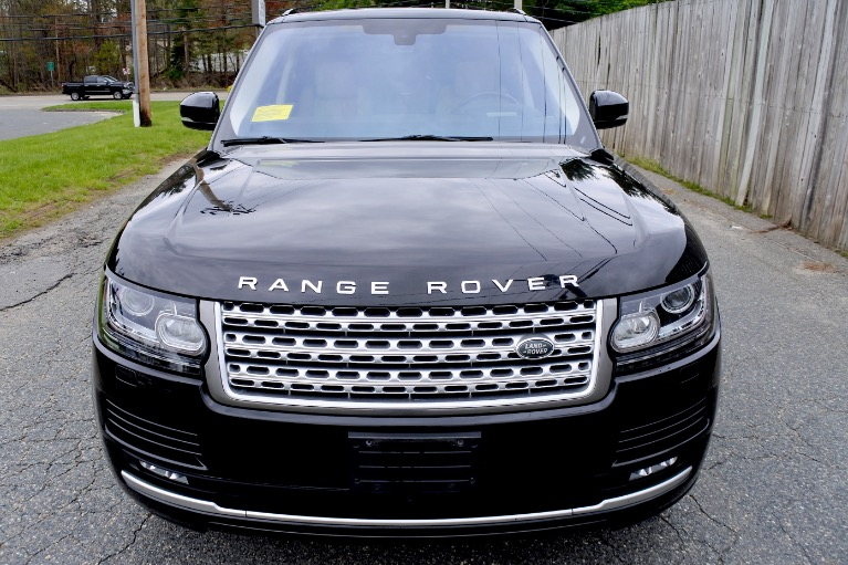 Used 2016 Land Rover Range Rover Supercharged Used 2016 Land Rover Range Rover Supercharged for sale  at Metro West Motorcars LLC in Shrewsbury MA 8
