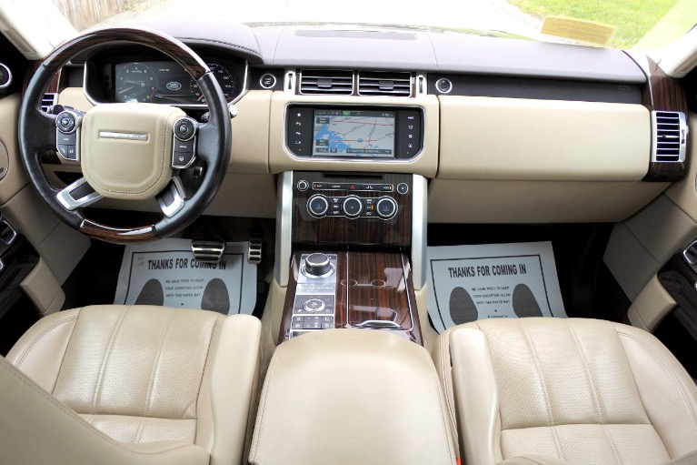 Used 2016 Land Rover Range Rover Supercharged Used 2016 Land Rover Range Rover Supercharged for sale  at Metro West Motorcars LLC in Shrewsbury MA 9