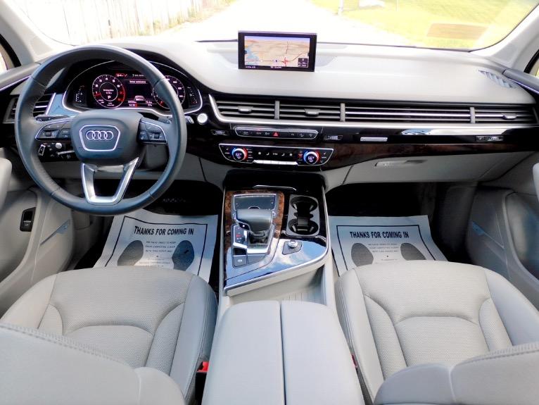 Used 2017 Audi Q7 3.0 TFSI Prestige Quattro Used 2017 Audi Q7 3.0 TFSI Prestige Quattro for sale  at Metro West Motorcars LLC in Shrewsbury MA 9