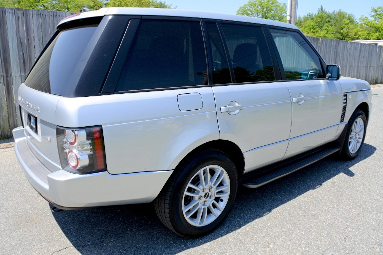 Used 2012 Land Rover Range Rover HSE Used 2012 Land Rover Range Rover HSE for sale  at Metro West Motorcars LLC in Shrewsbury MA 5