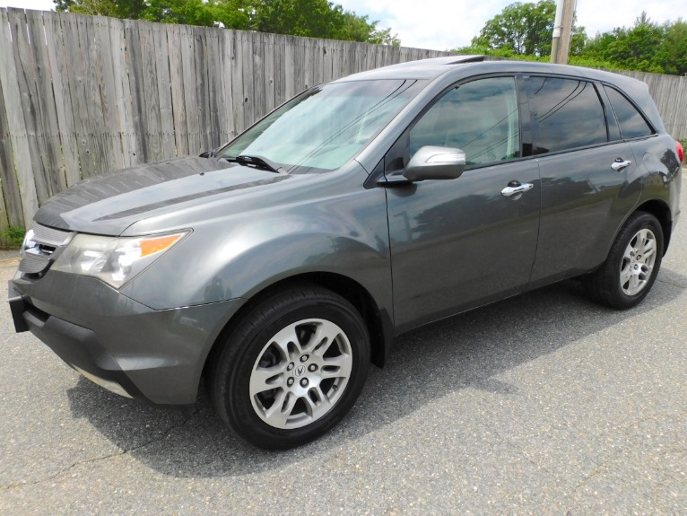 Used Used 2008 Acura Mdx 4WD Tech Pkg for sale $10,800 at Metro West Motorcars LLC in Shrewsbury MA