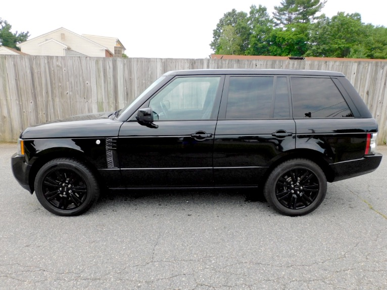 Used 2012 Land Rover Range Rover HSE LUX Used 2012 Land Rover Range Rover HSE LUX for sale  at Metro West Motorcars LLC in Shrewsbury MA 2