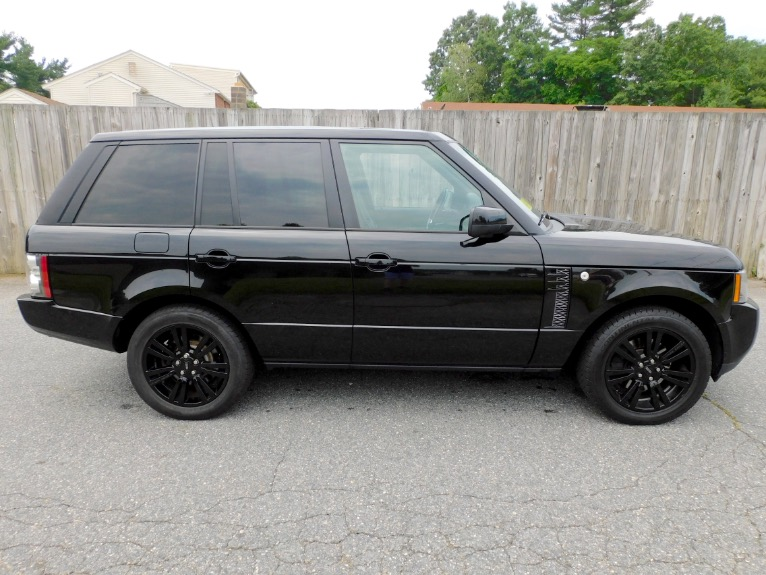 Used 2012 Land Rover Range Rover HSE LUX Used 2012 Land Rover Range Rover HSE LUX for sale  at Metro West Motorcars LLC in Shrewsbury MA 6