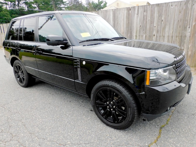 Used 2012 Land Rover Range Rover HSE LUX Used 2012 Land Rover Range Rover HSE LUX for sale  at Metro West Motorcars LLC in Shrewsbury MA 7