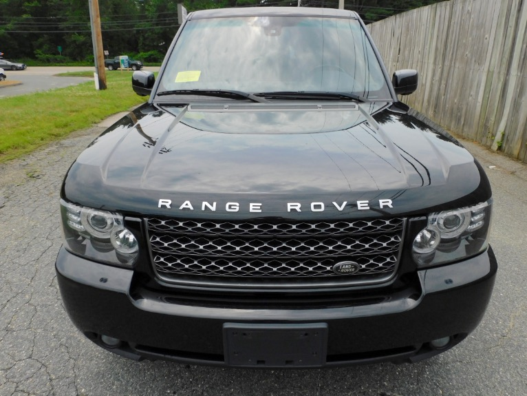 Used 2012 Land Rover Range Rover HSE LUX Used 2012 Land Rover Range Rover HSE LUX for sale  at Metro West Motorcars LLC in Shrewsbury MA 8