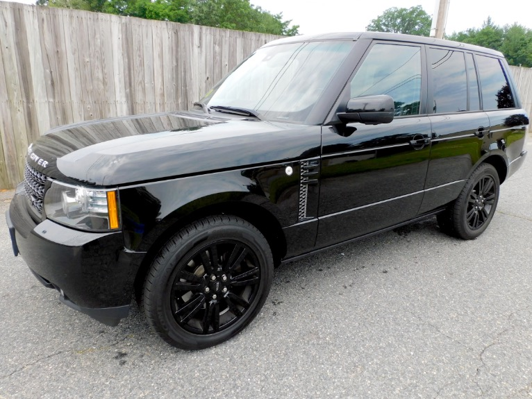 Used Used 2012 Land Rover Range Rover HSE LUX for sale $19,800 at Metro West Motorcars LLC in Shrewsbury MA