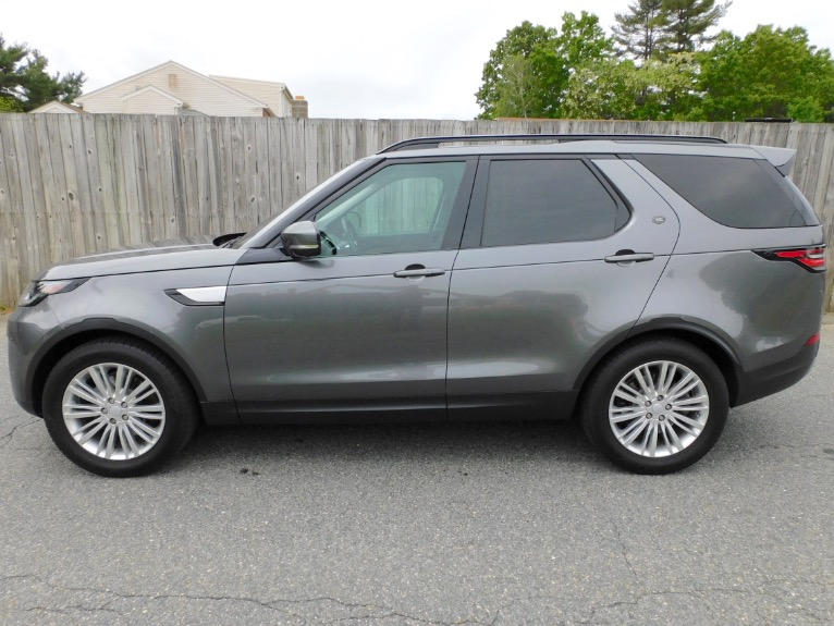 Used 2017 Land Rover Discovery HSE V6 Supercharged Used 2017 Land Rover Discovery HSE V6 Supercharged for sale  at Metro West Motorcars LLC in Shrewsbury MA 2