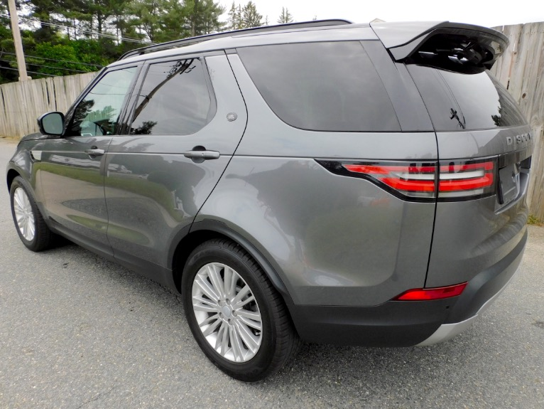 Used 2017 Land Rover Discovery HSE V6 Supercharged Used 2017 Land Rover Discovery HSE V6 Supercharged for sale  at Metro West Motorcars LLC in Shrewsbury MA 3