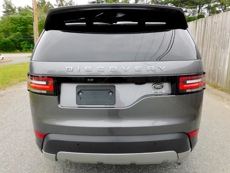 Used 2017 Land Rover Discovery HSE V6 Supercharged Used 2017 Land Rover Discovery HSE V6 Supercharged for sale  at Metro West Motorcars LLC in Shrewsbury MA 4