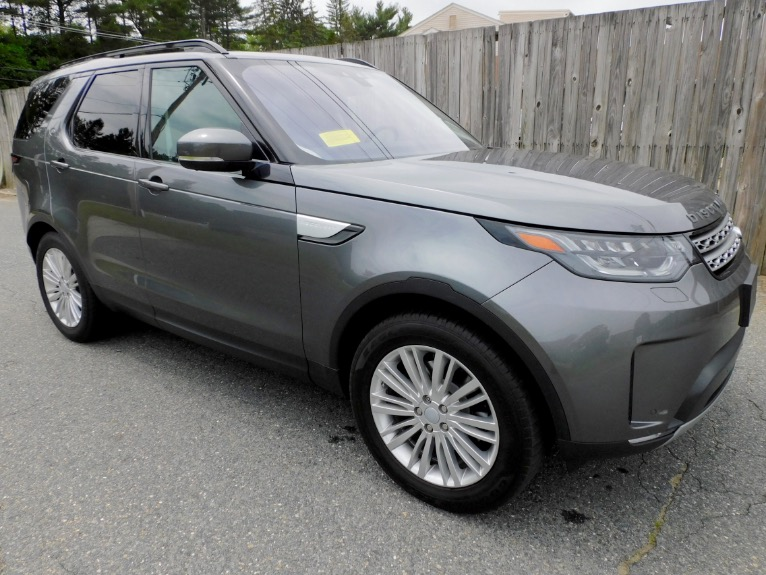 Used 2017 Land Rover Discovery HSE V6 Supercharged Used 2017 Land Rover Discovery HSE V6 Supercharged for sale  at Metro West Motorcars LLC in Shrewsbury MA 7