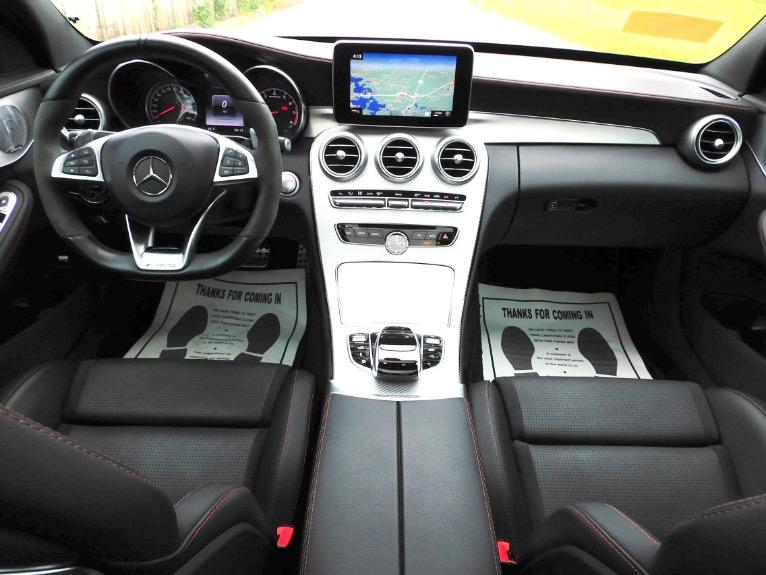 Used 2018 Mercedes-Benz C-class AMG C 43 4MATIC Sedan Used 2018 Mercedes-Benz C-class AMG C 43 4MATIC Sedan for sale  at Metro West Motorcars LLC in Shrewsbury MA 9
