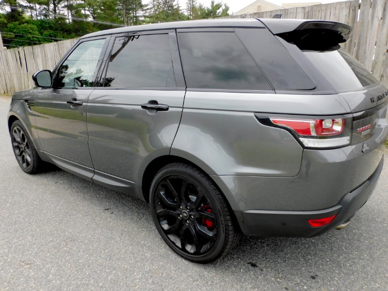Used 2016 Land Rover Range Rover Sport V8 Dynamic Used 2016 Land Rover Range Rover Sport V8 Dynamic for sale  at Metro West Motorcars LLC in Shrewsbury MA 3