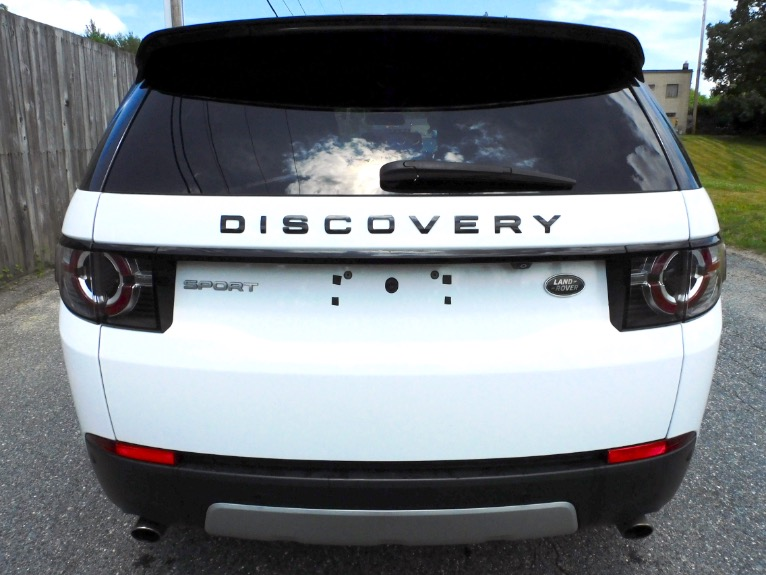 Used 2015 Land Rover Discovery Sport AWD 4dr HSE Used 2015 Land Rover Discovery Sport AWD 4dr HSE for sale  at Metro West Motorcars LLC in Shrewsbury MA 4
