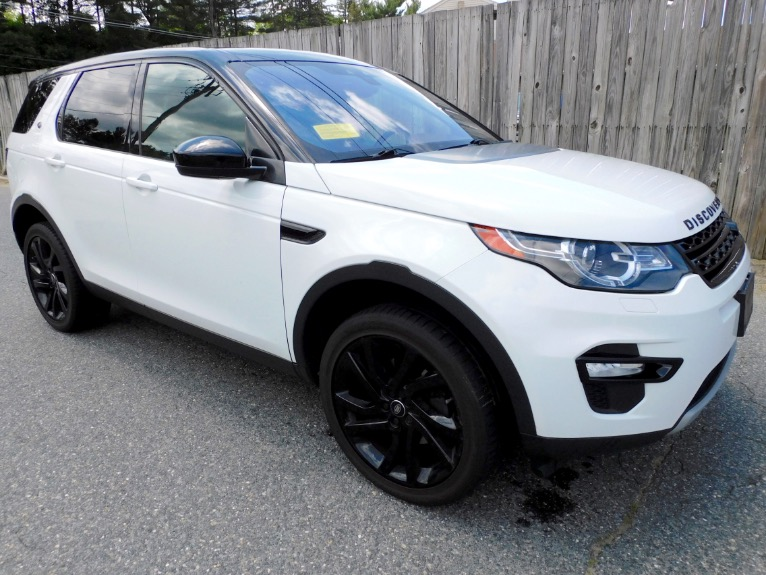 Used 2015 Land Rover Discovery Sport AWD 4dr HSE Used 2015 Land Rover Discovery Sport AWD 4dr HSE for sale  at Metro West Motorcars LLC in Shrewsbury MA 7