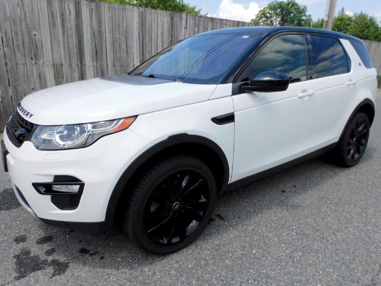 Used Used 2015 Land Rover Discovery Sport AWD 4dr HSE for sale $17,800 at Metro West Motorcars LLC in Shrewsbury MA