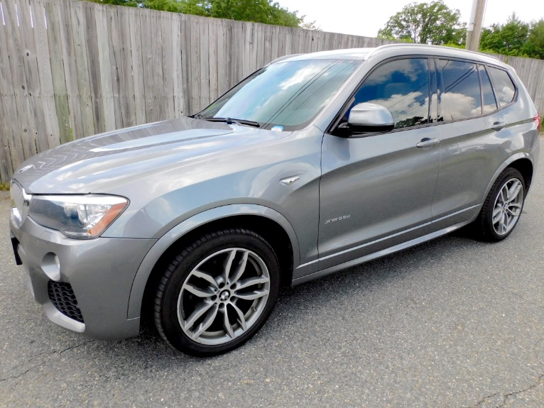 Used Used 2016 BMW X3 xDrive28d AWD for sale $22,800 at Metro West Motorcars LLC in Shrewsbury MA
