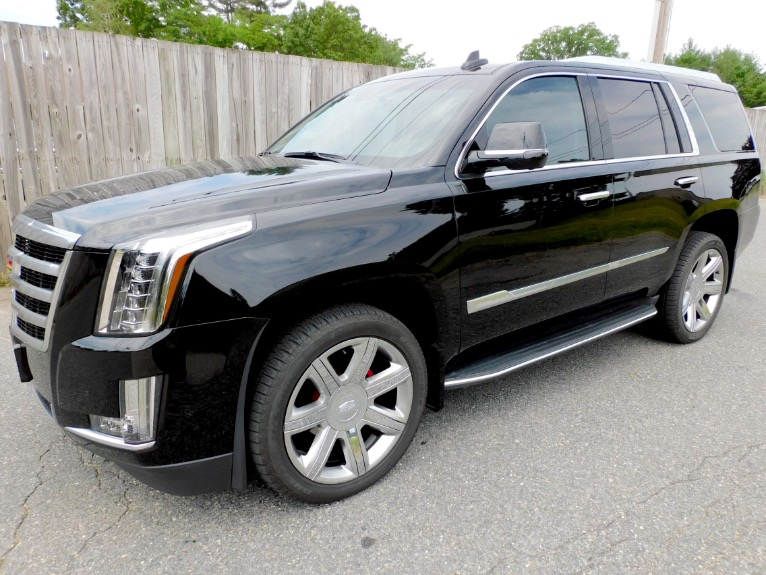 Used Used 2017 Cadillac Escalade 4WD 4dr Luxury for sale $69,800 at Metro West Motorcars LLC in Shrewsbury MA