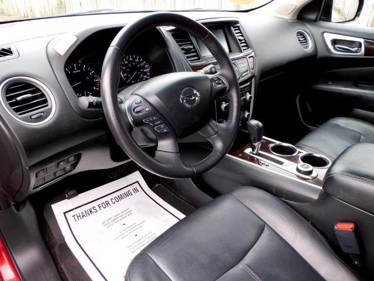 Used 2014 Nissan Pathfinder SL 4WD Used 2014 Nissan Pathfinder SL 4WD for sale  at Metro West Motorcars LLC in Shrewsbury MA 13