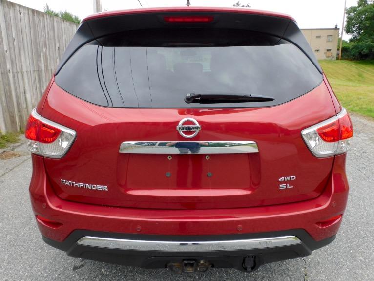 Used 2014 Nissan Pathfinder SL 4WD Used 2014 Nissan Pathfinder SL 4WD for sale  at Metro West Motorcars LLC in Shrewsbury MA 4