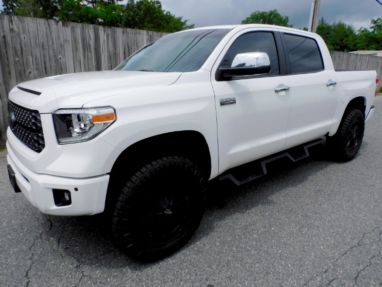 Used Used 2019 Toyota Tundra 4WD Platinum CrewMax 5.5 Bed 5.7L (Natl) for sale Call for price at Metro West Motorcars LLC in Shrewsbury MA
