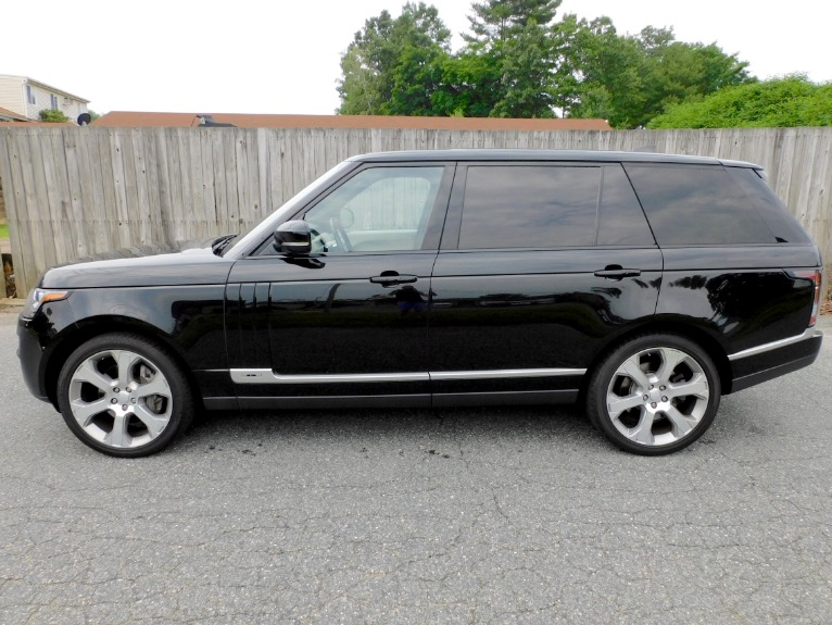 Used 2017 Land Rover Range Rover V8 Supercharged LWB Used 2017 Land Rover Range Rover V8 Supercharged LWB for sale  at Metro West Motorcars LLC in Shrewsbury MA 2