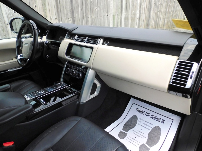 Used 2017 Land Rover Range Rover V8 Supercharged LWB Used 2017 Land Rover Range Rover V8 Supercharged LWB for sale  at Metro West Motorcars LLC in Shrewsbury MA 21