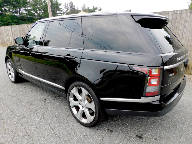 Used 2017 Land Rover Range Rover V8 Supercharged LWB Used 2017 Land Rover Range Rover V8 Supercharged LWB for sale  at Metro West Motorcars LLC in Shrewsbury MA 3
