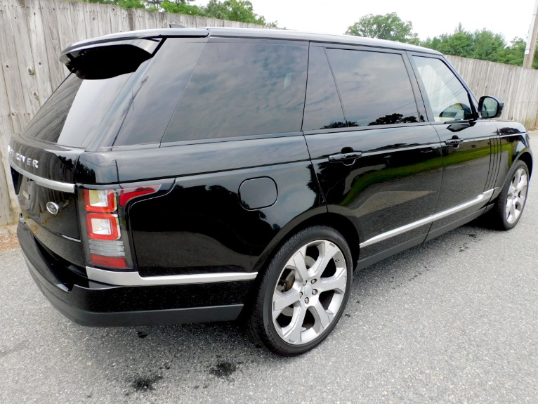 Used 2017 Land Rover Range Rover V8 Supercharged LWB Used 2017 Land Rover Range Rover V8 Supercharged LWB for sale  at Metro West Motorcars LLC in Shrewsbury MA 5