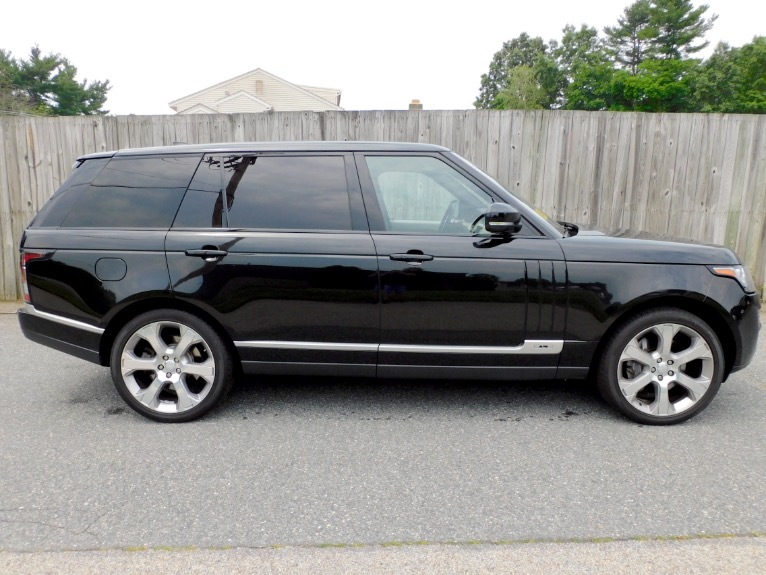 Used 2017 Land Rover Range Rover V8 Supercharged LWB Used 2017 Land Rover Range Rover V8 Supercharged LWB for sale  at Metro West Motorcars LLC in Shrewsbury MA 6