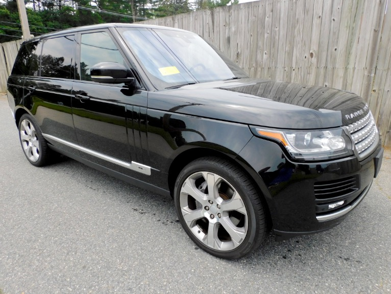 Used 2017 Land Rover Range Rover V8 Supercharged LWB Used 2017 Land Rover Range Rover V8 Supercharged LWB for sale  at Metro West Motorcars LLC in Shrewsbury MA 7