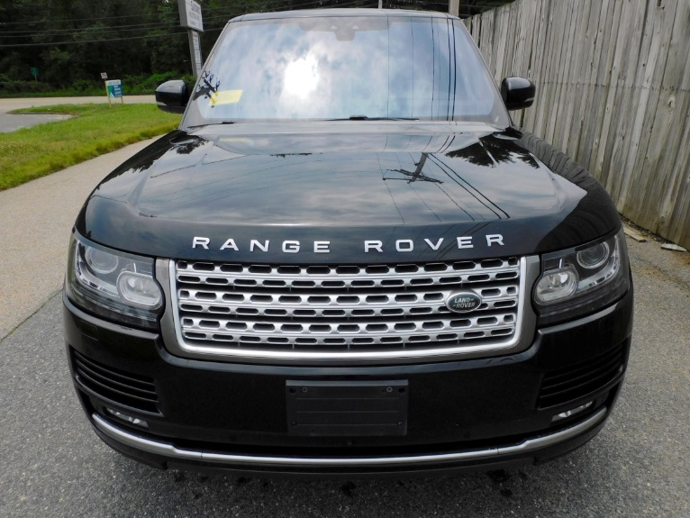 Used 2017 Land Rover Range Rover V8 Supercharged LWB Used 2017 Land Rover Range Rover V8 Supercharged LWB for sale  at Metro West Motorcars LLC in Shrewsbury MA 8