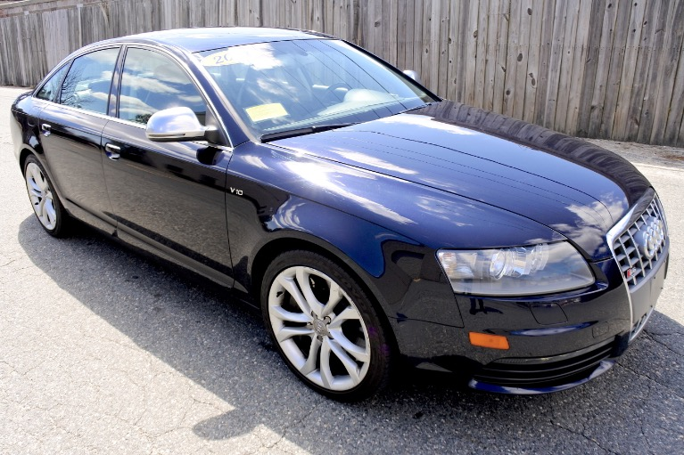 Used 2011 Audi S6 5.2 Prestige Quattro Used 2011 Audi S6 5.2 Prestige Quattro for sale  at Metro West Motorcars LLC in Shrewsbury MA 7