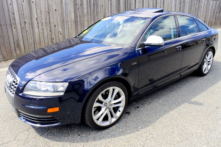 Used 2011 Audi S6 5.2 Prestige Quattro Used 2011 Audi S6 5.2 Prestige Quattro for sale  at Metro West Motorcars LLC in Shrewsbury MA 1