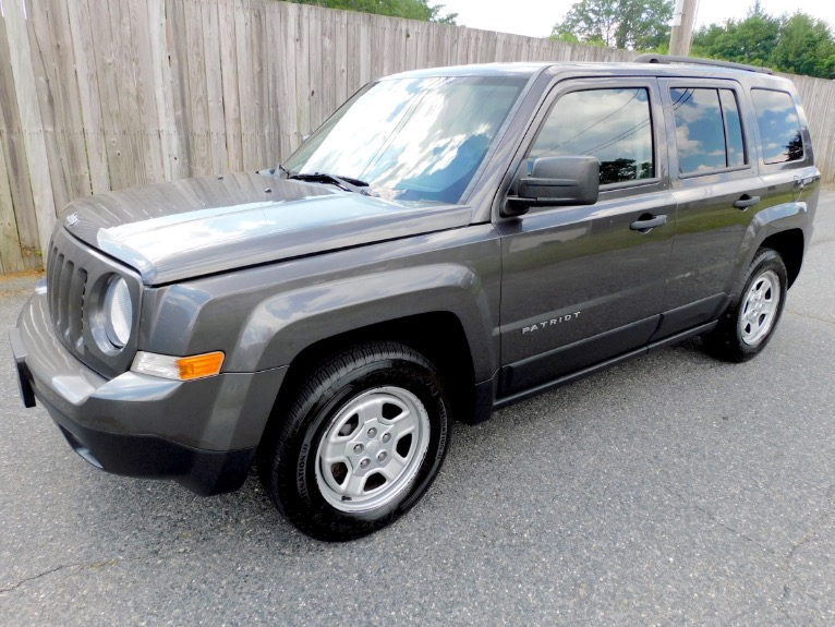 Used Used 2015 Jeep Patriot FWD Sport for sale $11,800 at Metro West Motorcars LLC in Shrewsbury MA
