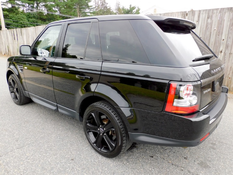 Used 2013 Land Rover Range Rover Sport HSE Limited Edition Used 2013 Land Rover Range Rover Sport HSE Limited Edition for sale  at Metro West Motorcars LLC in Shrewsbury MA 3