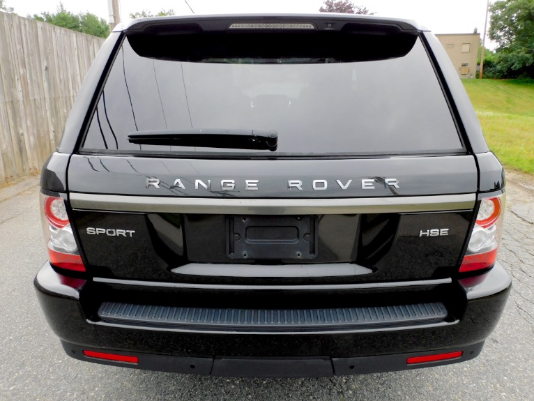 Used 2013 Land Rover Range Rover Sport HSE Limited Edition Used 2013 Land Rover Range Rover Sport HSE Limited Edition for sale  at Metro West Motorcars LLC in Shrewsbury MA 4