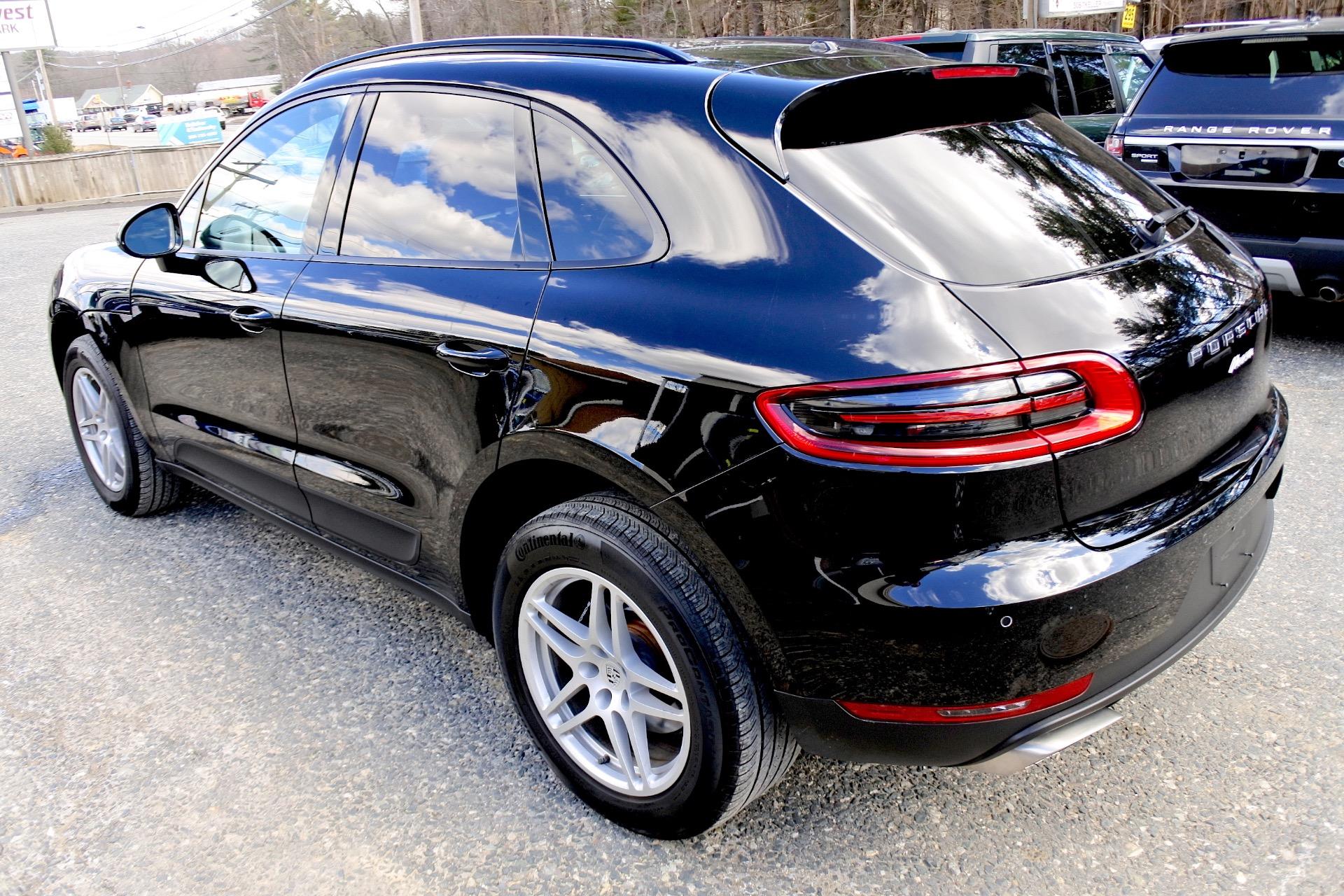 Used 2017 Porsche Macan AWD Used 2017 Porsche Macan AWD for sale  at Metro West Motorcars LLC in Shrewsbury MA 3