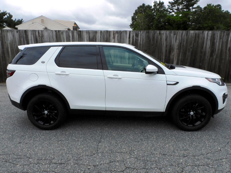 Used 2018 Land Rover Discovery Sport HSE 4WD Used 2018 Land Rover Discovery Sport HSE 4WD for sale  at Metro West Motorcars LLC in Shrewsbury MA 6