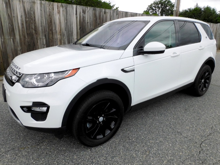 Used 2018 Land Rover Discovery Sport HSE 4WD Used 2018 Land Rover Discovery Sport HSE 4WD for sale  at Metro West Motorcars LLC in Shrewsbury MA 1