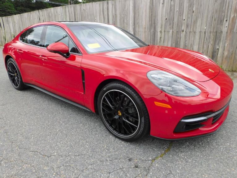 Used 2018 Porsche Panamera 4S AWD Used 2018 Porsche Panamera 4S AWD for sale  at Metro West Motorcars LLC in Shrewsbury MA 7
