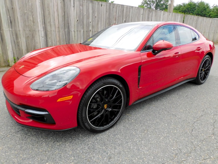 Used 2018 Porsche Panamera 4S AWD Used 2018 Porsche Panamera 4S AWD for sale  at Metro West Motorcars LLC in Shrewsbury MA 1