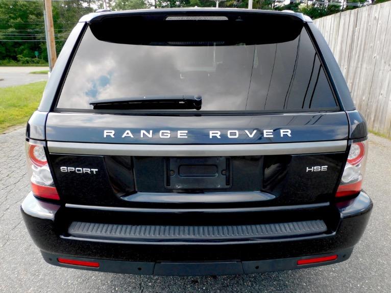 Used 2012 Land Rover Range Rover Sport HSE Used 2012 Land Rover Range Rover Sport HSE for sale  at Metro West Motorcars LLC in Shrewsbury MA 4