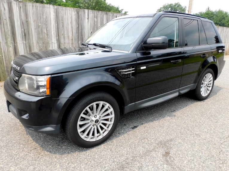 Used Used 2012 Land Rover Range Rover Sport HSE for sale $14,800 at Metro West Motorcars LLC in Shrewsbury MA