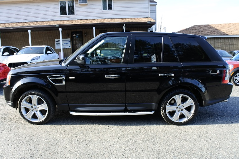 Used 2010 Land Rover Range Rover Sport Supercharged Used 2010 Land Rover Range Rover Sport Supercharged for sale  at Metro West Motorcars LLC in Shrewsbury MA 2